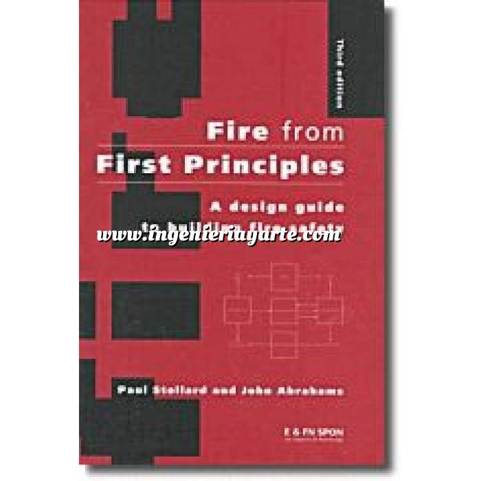 Imagen Instalaciones contra incendios Fire from first principles. a design guide to building fire safety 4º ed.
