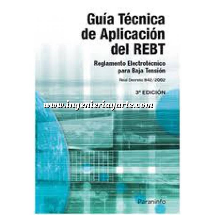 Imagen Instalaciones eléctricas de baja tensión Guía Técnica de aplicación del REBT