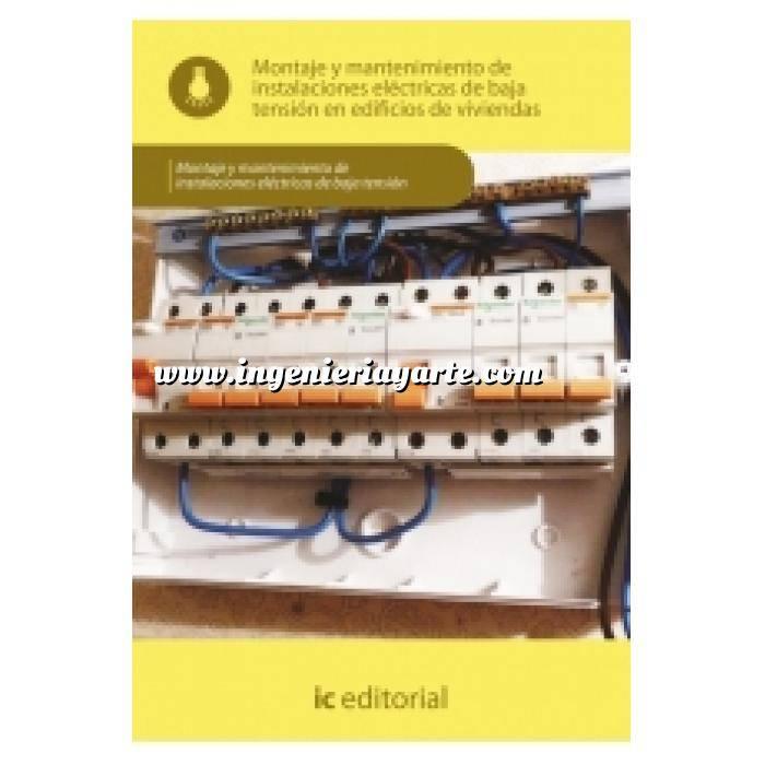 Imagen Instalaciones eléctricas de baja tensión Montaje y mantenimiento de instalaciones eléctricas de baja tensión en edificios de viviendas