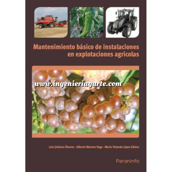 Imagen Maquinaria Agricola Mantenimiento básico de instalaciones en explotaciones agrícolas