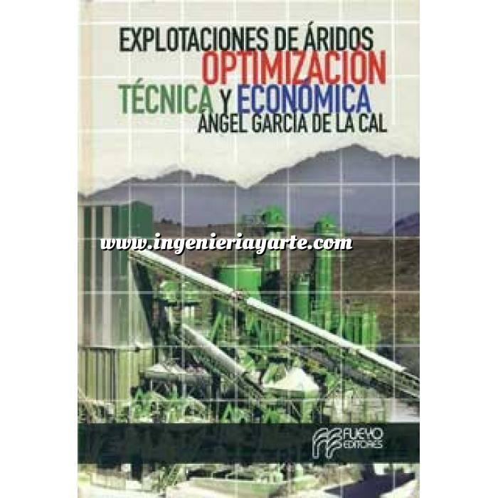 Imagen Maquinaria de obras publicas Explotaciones de áridos. Optimización técnica y económica