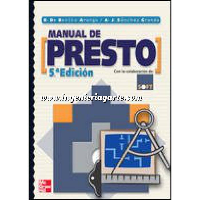 Imagen Mediciones, presupuestación y cuadros de precios Manual de presto