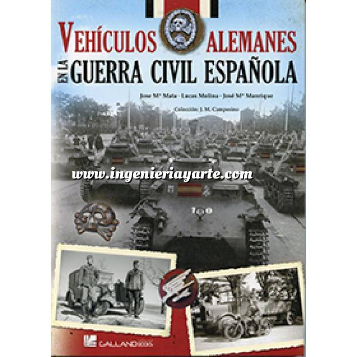 Imagen Medios blindados Vehículos alemanes en la Guerra Civil Española