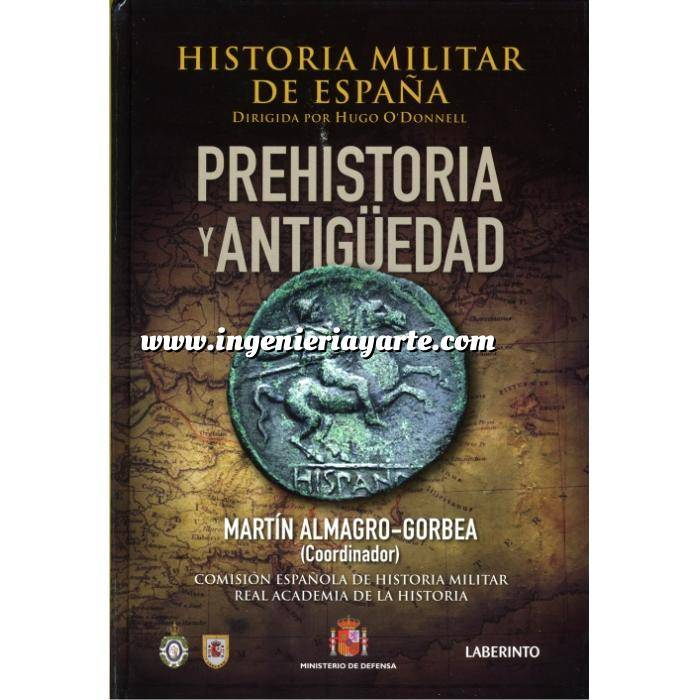 Imagen Memorias y biografías Historia Militar de España  Tomo I . Prehistoria y Antiguedad