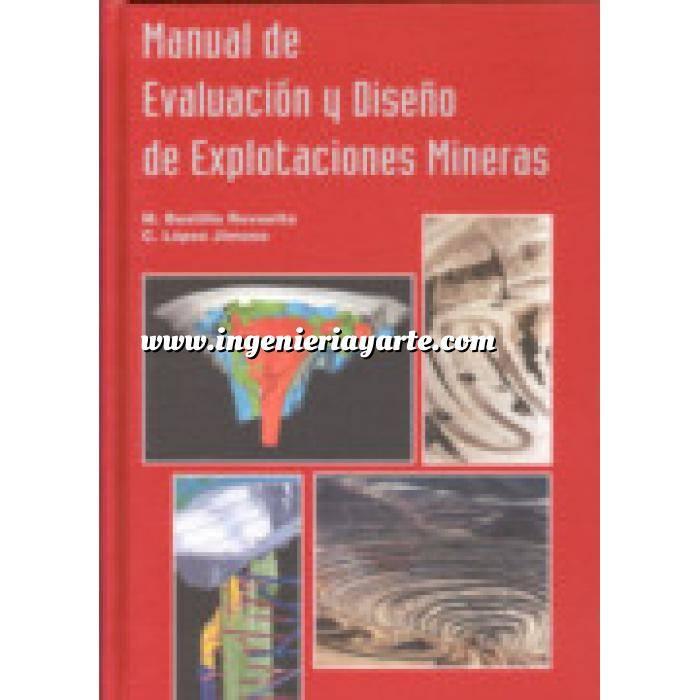 Imagen Minería Manual de evaluación y diseño de explotaciones mineras