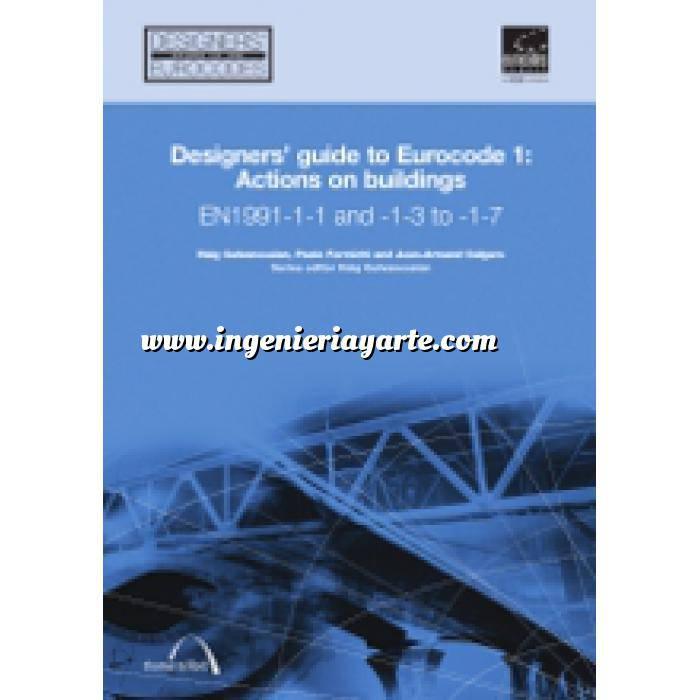 Imagen Normas UNE y eurocódigo Designers' Guide to Eurocode 1: Actions on buildings