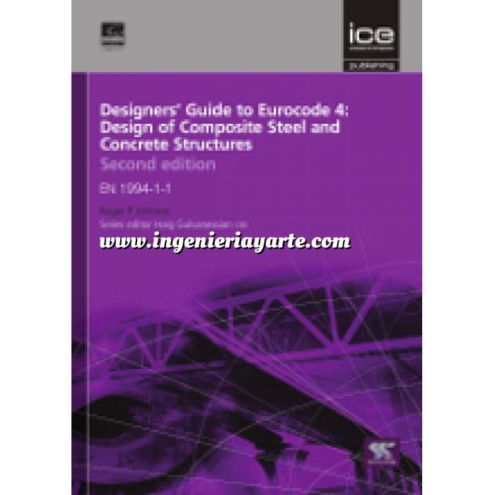 Imagen Normas UNE y eurocódigo Designers' Guide to Eurocode 4: Design of composite steel and concrete structures