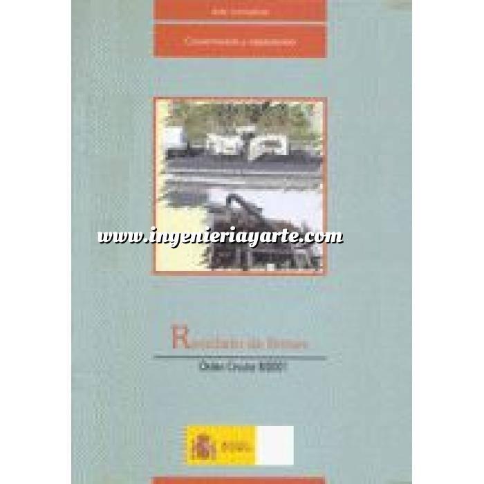 Imagen Normativa infraestructuras transporte Reciclado de firmes orden circular 8 2001