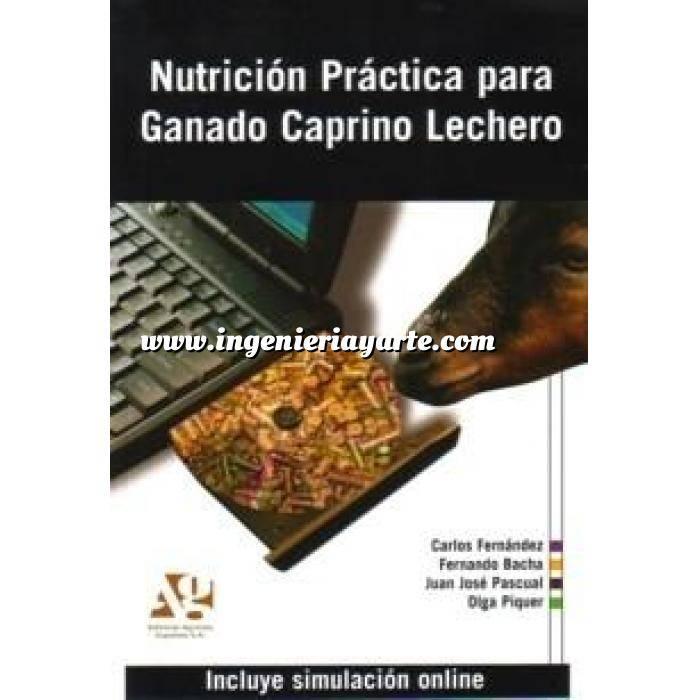 Imagen Ovino y Caprino Nutrición práctica para ganado caprino lechero