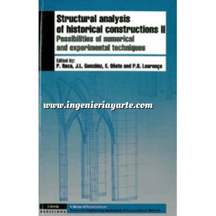 Imagen Patología y rehabilitación Structural analysis of historical constructions 2 vol
