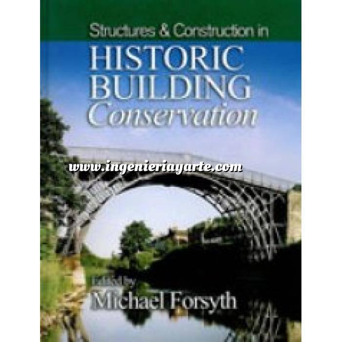Imagen Patología y rehabilitación Structures and Construction in Historic Building Conservation