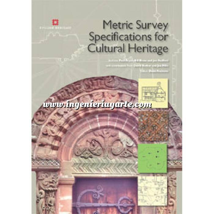 Imagen Patrimonio arquitectónico Metric Survey Specifications for Cultural Heritage