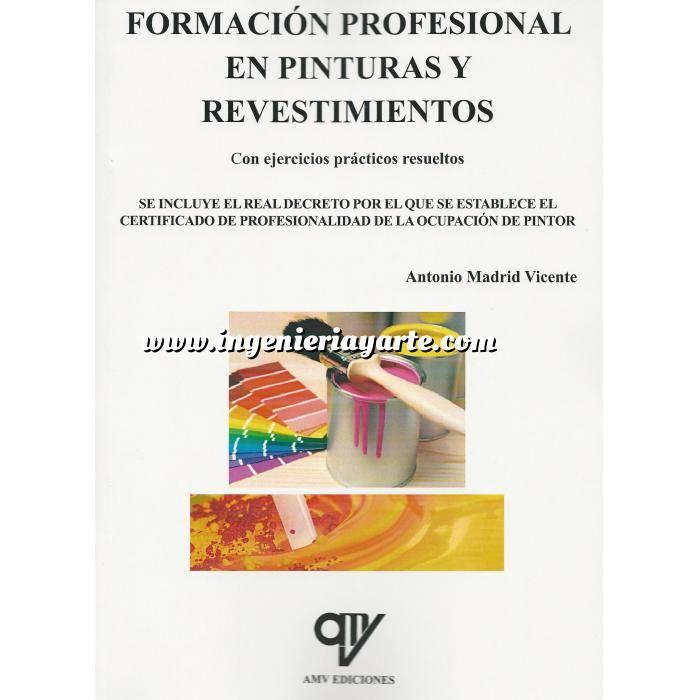 Imagen Pinturas y revestimientos Formación profesional en pinturas y revestimientos