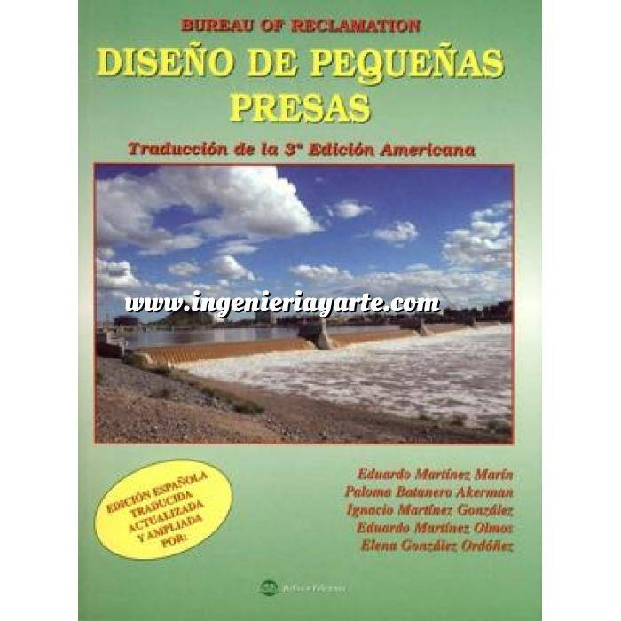 Imagen Presas Bureau of Reclamation.Diseño de pequeñas presas