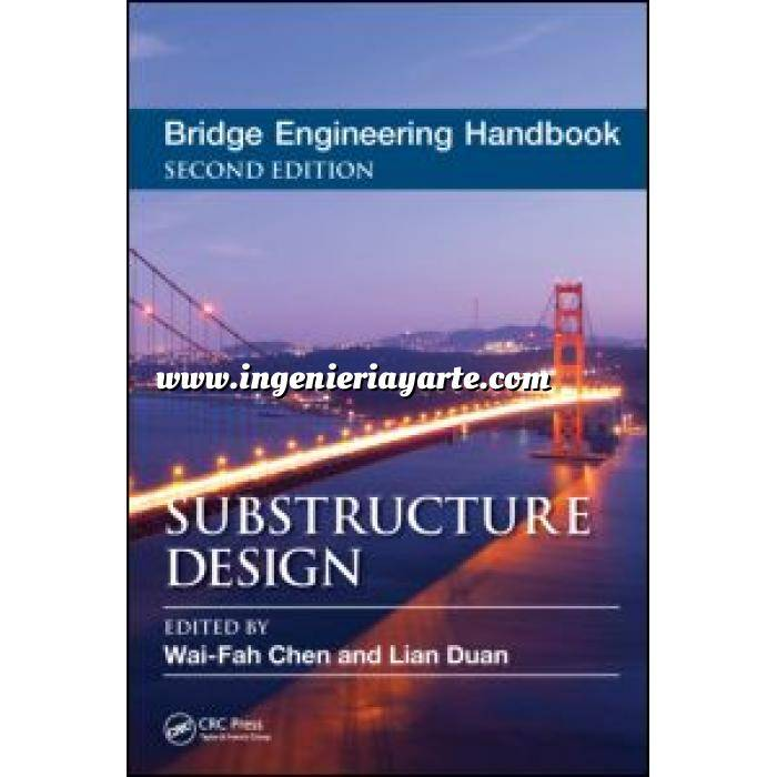Imagen Puentes y pasarelas Bridge Engineering Handbook.Substructure Design