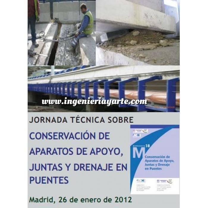 Imagen Puentes y pasarelas Conservación de aparatos de apoyo, juntas y drenaje en puentes