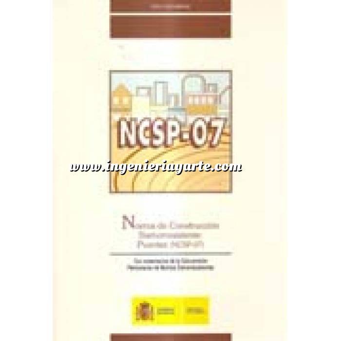 Imagen Puentes y pasarelas Norma de construcción sismorresistente. Puentes (NCSP-07)