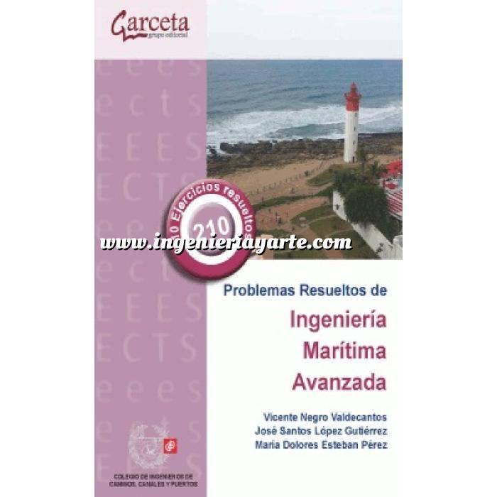 Imagen Puertos y costas Problemas resueltos de Ingeniería Marítima Avanzada