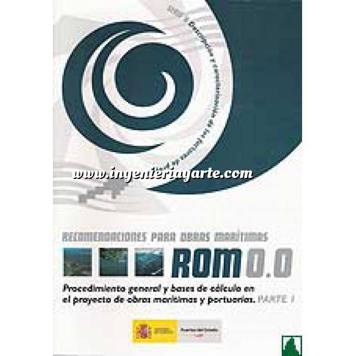 Imagen Puertos y costas ROM 0.0:PARTE I Recomendaciones para obras maritimas