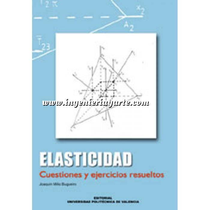 Imagen Resistencia de materiales Elasticidad.Cuestiones y ejercicios resueltos