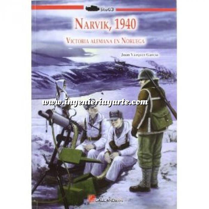 Imagen Segunda guerra mundial Narvik, 1940. Victoria alemana en Noruega