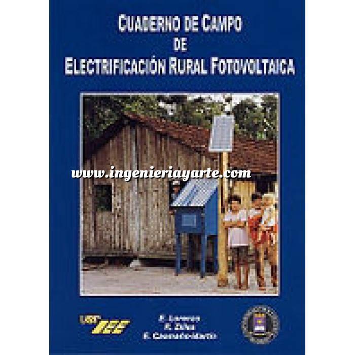 Imagen Solar fotovoltaica Cuaderno de campo de electrificación rural fotovoltaica