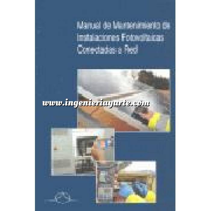 Imagen Solar fotovoltaica Manual de mantenimiento de instalaciones fotovoltaicas conectadas a red