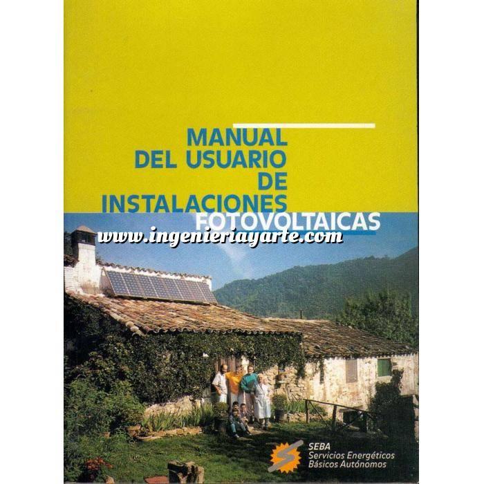Imagen Solar fotovoltaica Manual del usuario de instalaciones fotovoltaicas