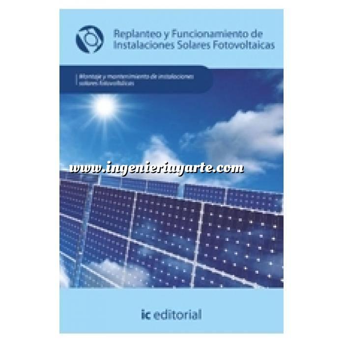 Imagen Solar fotovoltaica Replanteo y funcionamiento de instalaciones solares fotovoltaicas