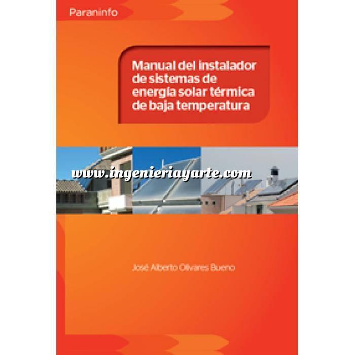 Imagen Solar térmica Manual del instalador de sistemas de energía solar térmica de baja temperatura