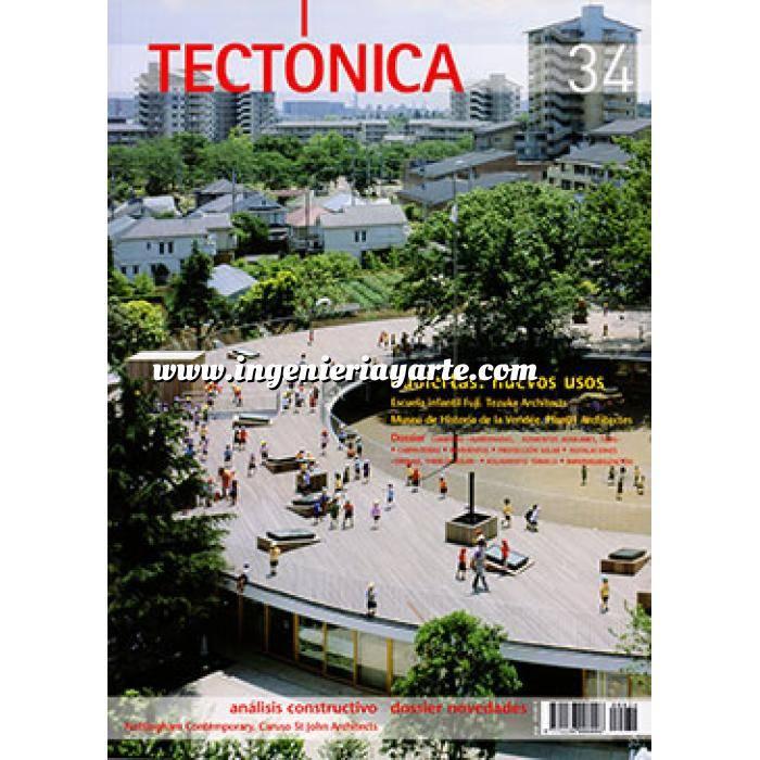 Imagen Tectónica Revista Tectónica Nº 34. Cubiertas: nuevos usos