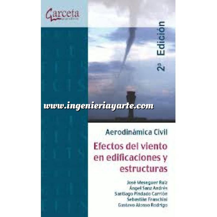 Imagen Teoría de estructuras Aerodinámica Civil.efectos del viento en edificaciones y estructuras
