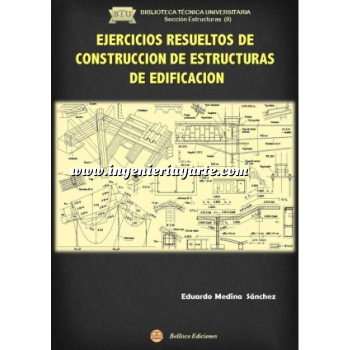 Imagen Teoría de estructuras Ejercicios Resueltos de construcción de estructuras de edificación