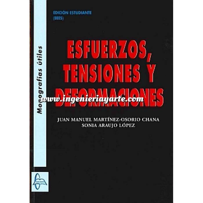 Imagen Teoría de estructuras Esfuerzos, tensiones y deformaciones