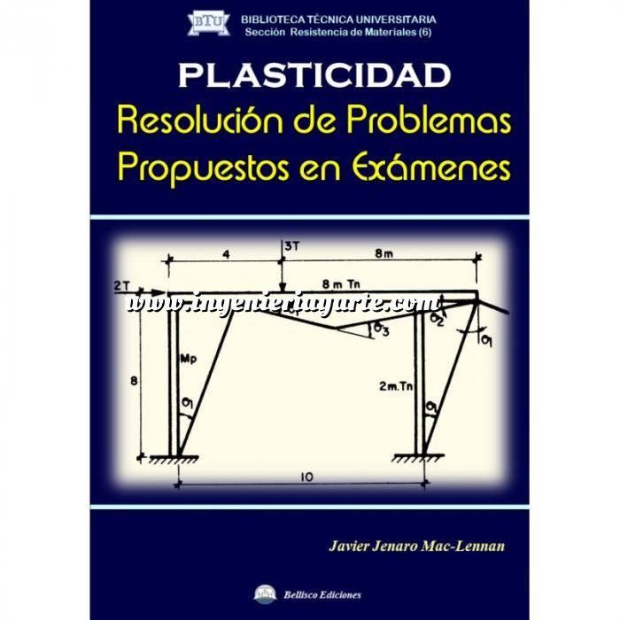Imagen Teoría de estructuras Plasticidad. Resolución de Problemas Propuestos en Exámenes