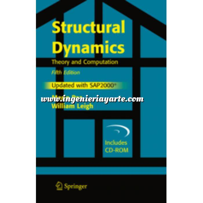 Imagen Teoría de estructuras Structural Dynamics.Theory and Computation