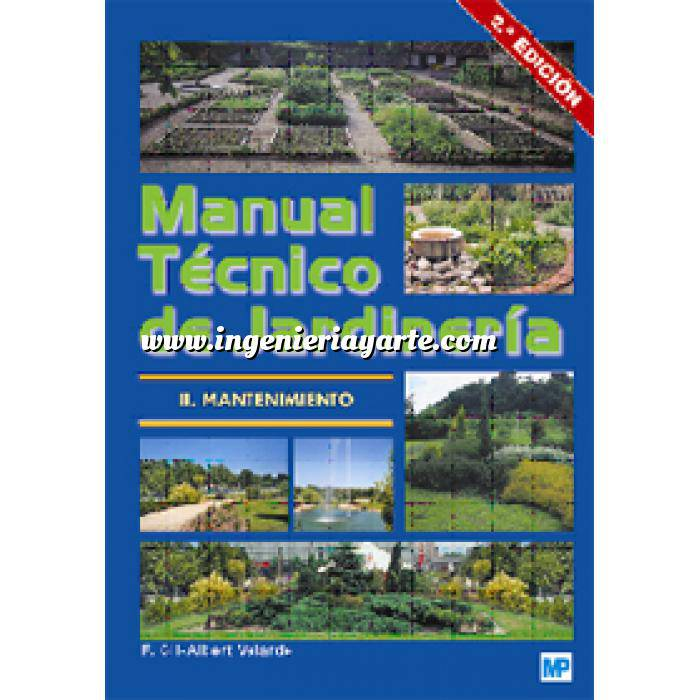 Imagen Teoría de los jardines Manual técnico de jardinería II. Mantenimiento