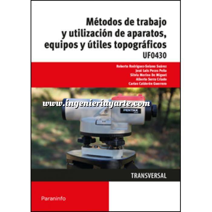 Imagen Topografía Métodos de trabajo y utilización de aparatos, equipos y útiles topográficos