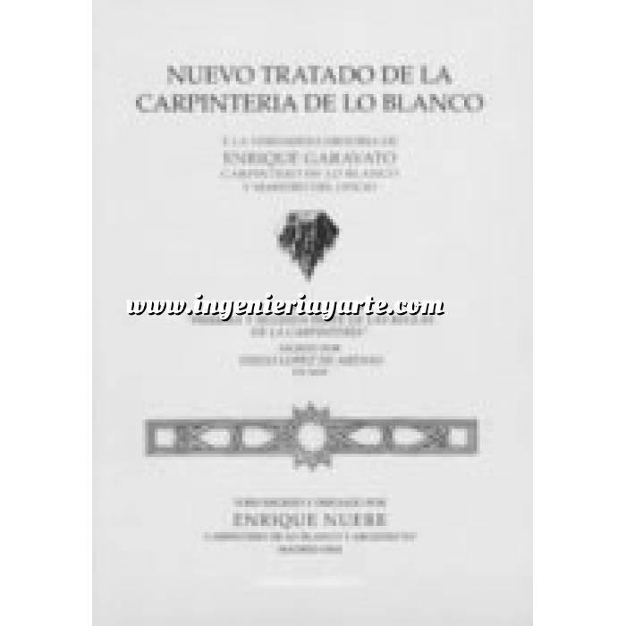 Imagen Tratados Nuevo tratado de la carpintería de lo blanco
