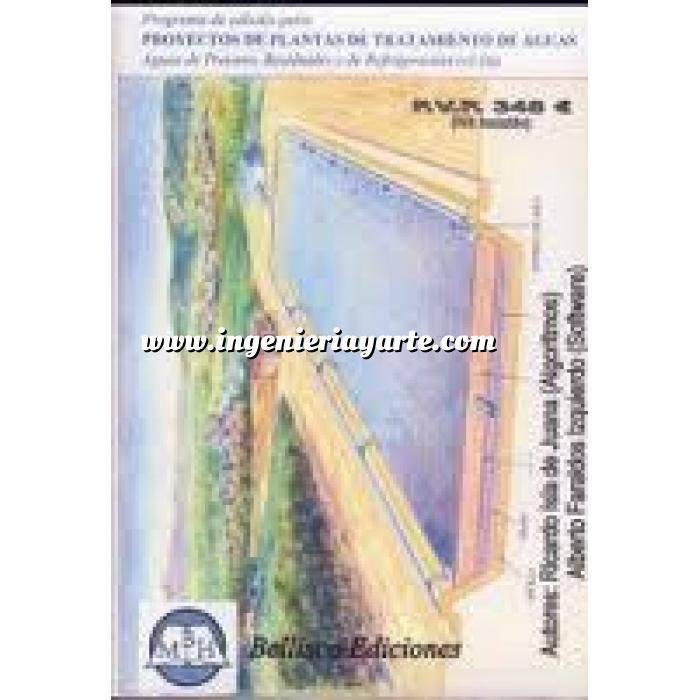 Imagen Tratamiento y depuración de aguas WCEDEP. Programa de Cálculo para Proyectos de Plantas de Tratamiento de Aguas (Proceso, Residuales y de Refrigeración)