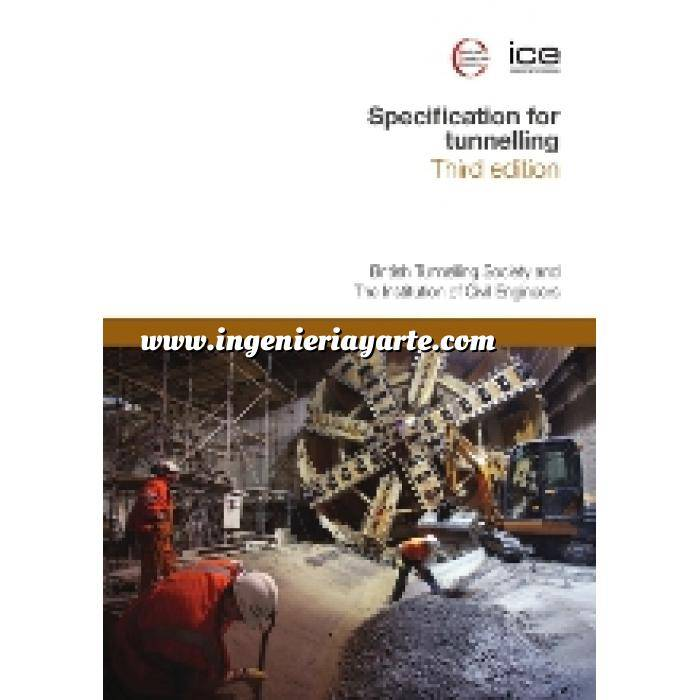 Imagen Túneles y obras subterráneas Specification for tunnelling