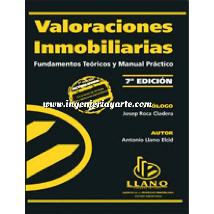 Imagen Valoraciones inmobiliarias Valoraciones inmobiliarias. Fundamentos teóricos y manual práctico