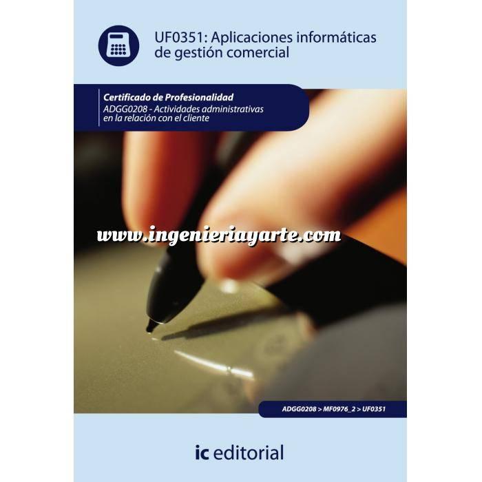 Imagen act. de gestión administrativa Aplicaciones informáticas de gestión comercial
