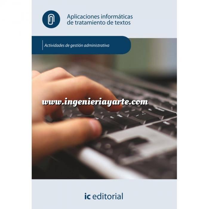 Imagen act. de gestión administrativa Aplicaciones informáticas de tratamiento de textos