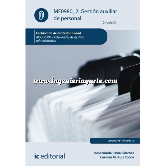 Imagen act. de gestión administrativa Gestión auxiliar de personal