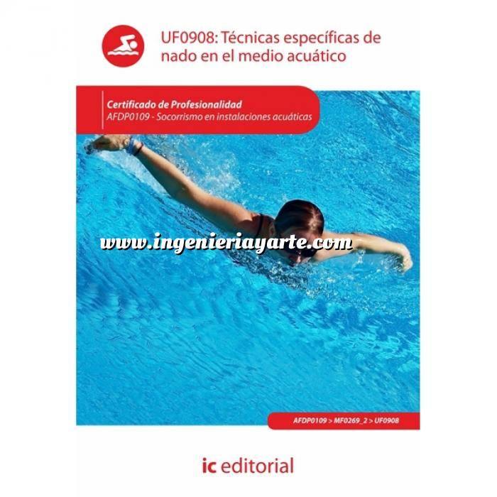 Imagen socorrismo inst. acuáticas Técnicas específicas de nado en el medio acuático