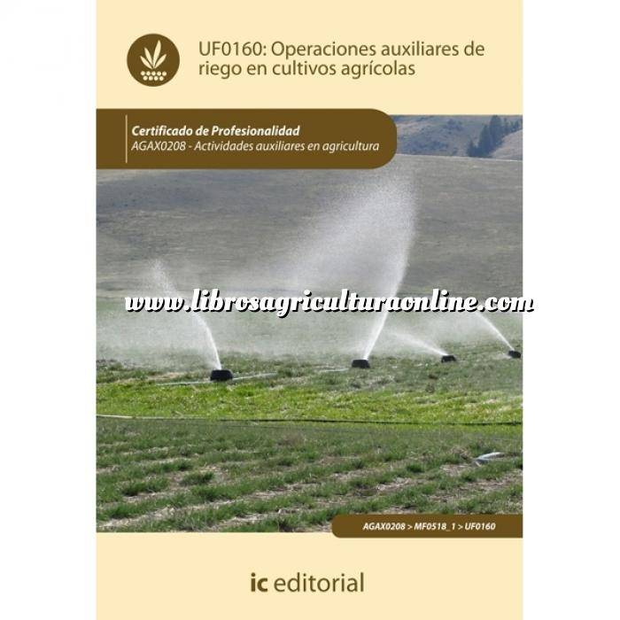 Imagen Cultivos Industriales Operaciones auxiliares de riego en cultivos agrícolas