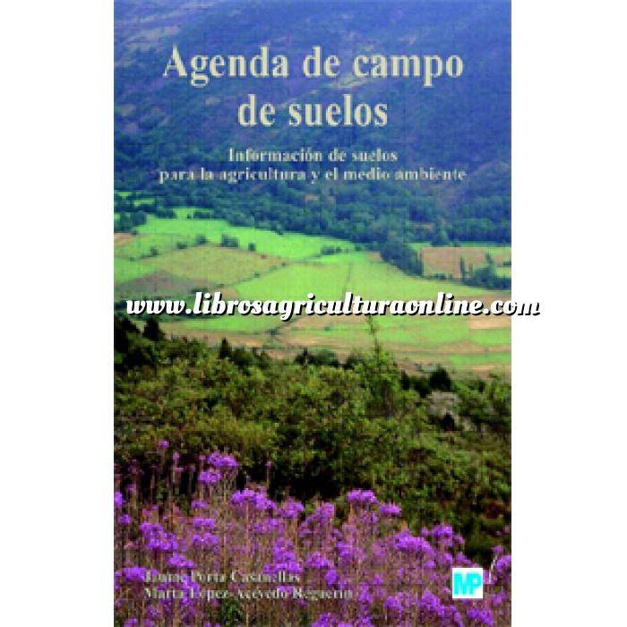 Imagen Edafologia Agenda de campo de suelos