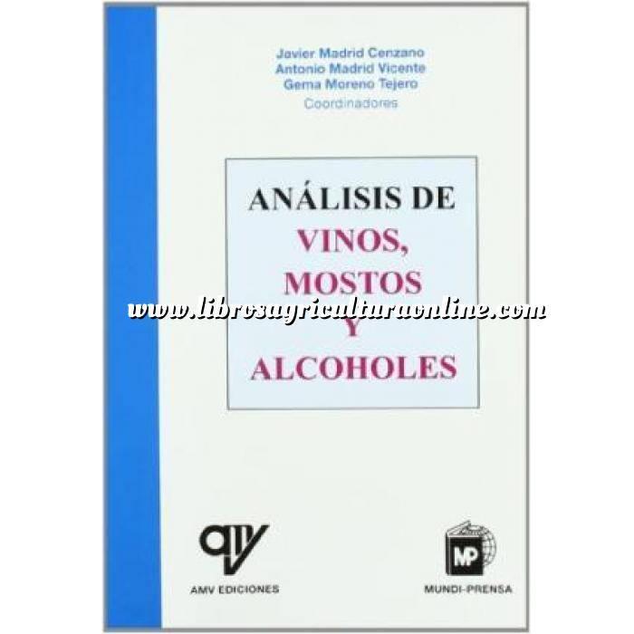 Imagen Enología Análisis de vinos, mostos y alcoholes
