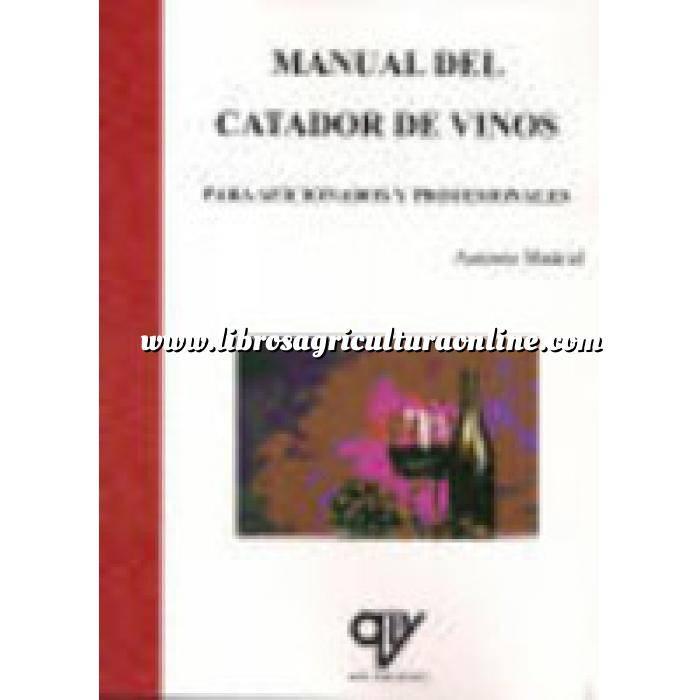 Imagen Enología Manual del catador de vinos. Para aficionados y profesionales